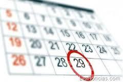 Tenemos calendario !!